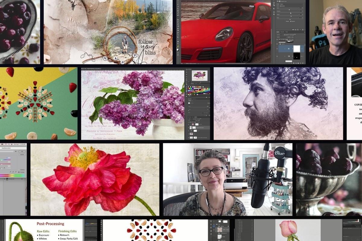 Photo Manipulation and Digital Scrapbooking Workshops