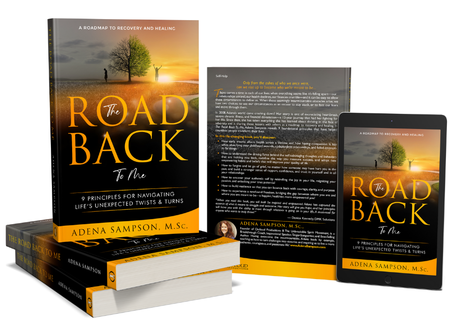 Road back to me book collection by Adena Sampson