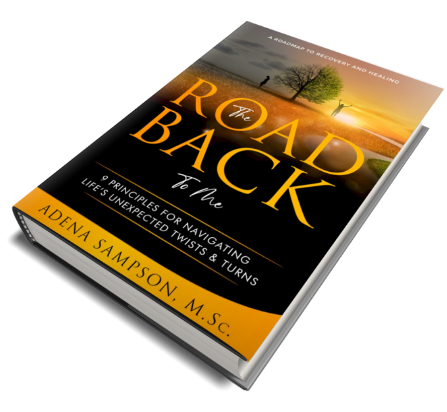 Road back to me hardcover book by Adena Sampson