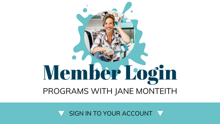 Member Login to Programs with Jane Monteith