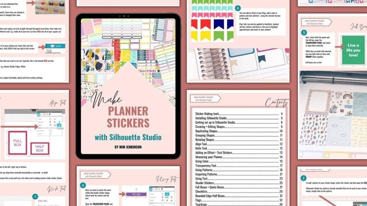 eBook: Make Planner Stickers