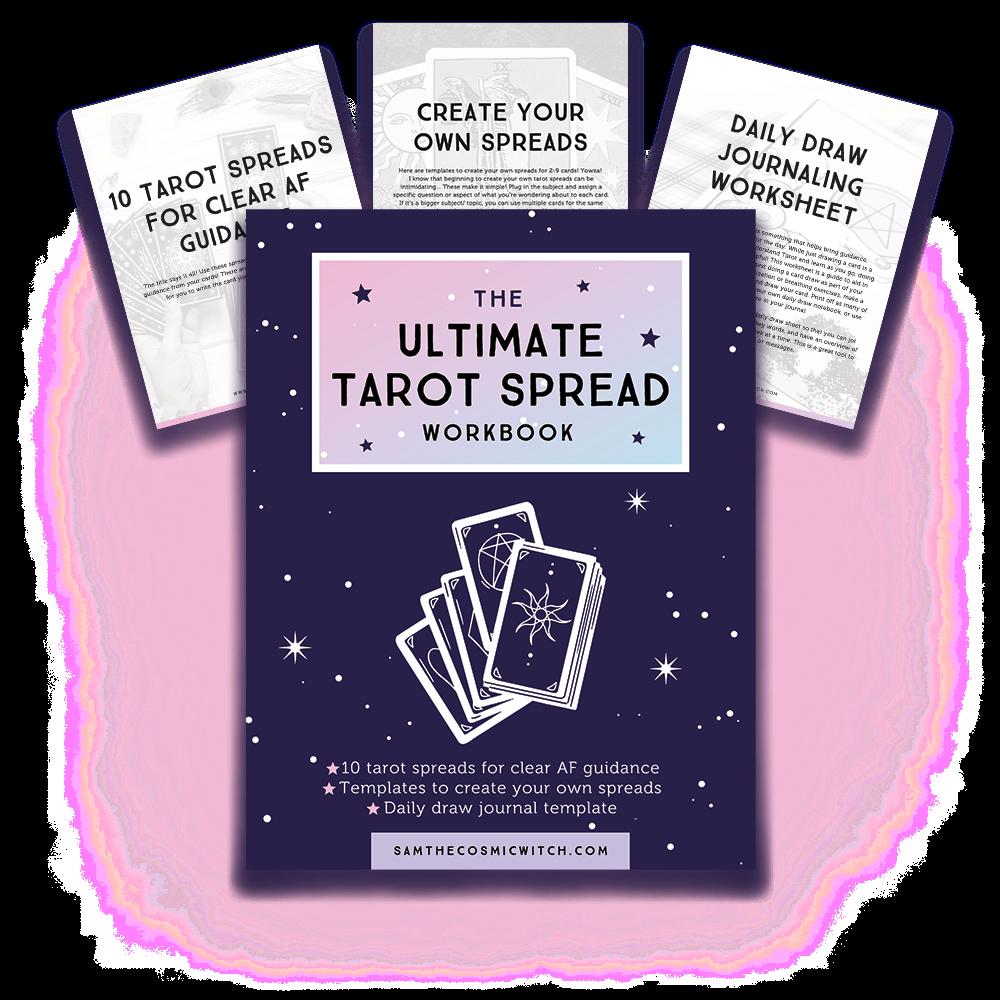 The Ultimate Tarot Spread Workbook