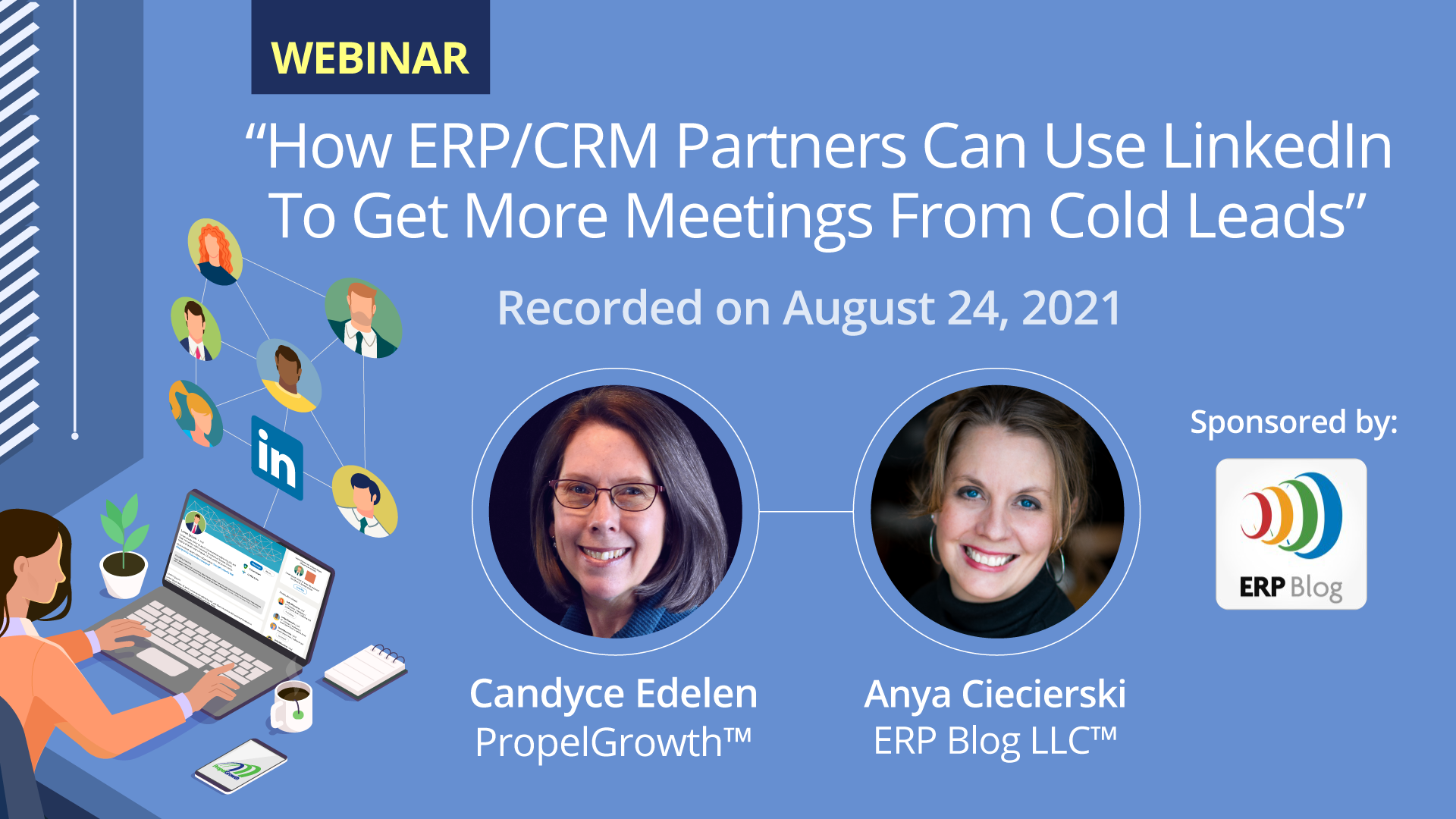 Webinar: How ERP/CRM Partners can use LinkedIn to get meetings with cold leads