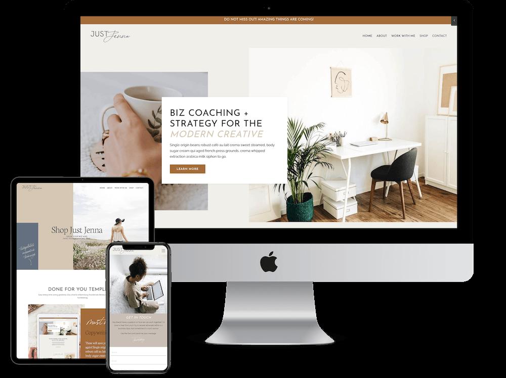 Kajabi Website Templates and Themes