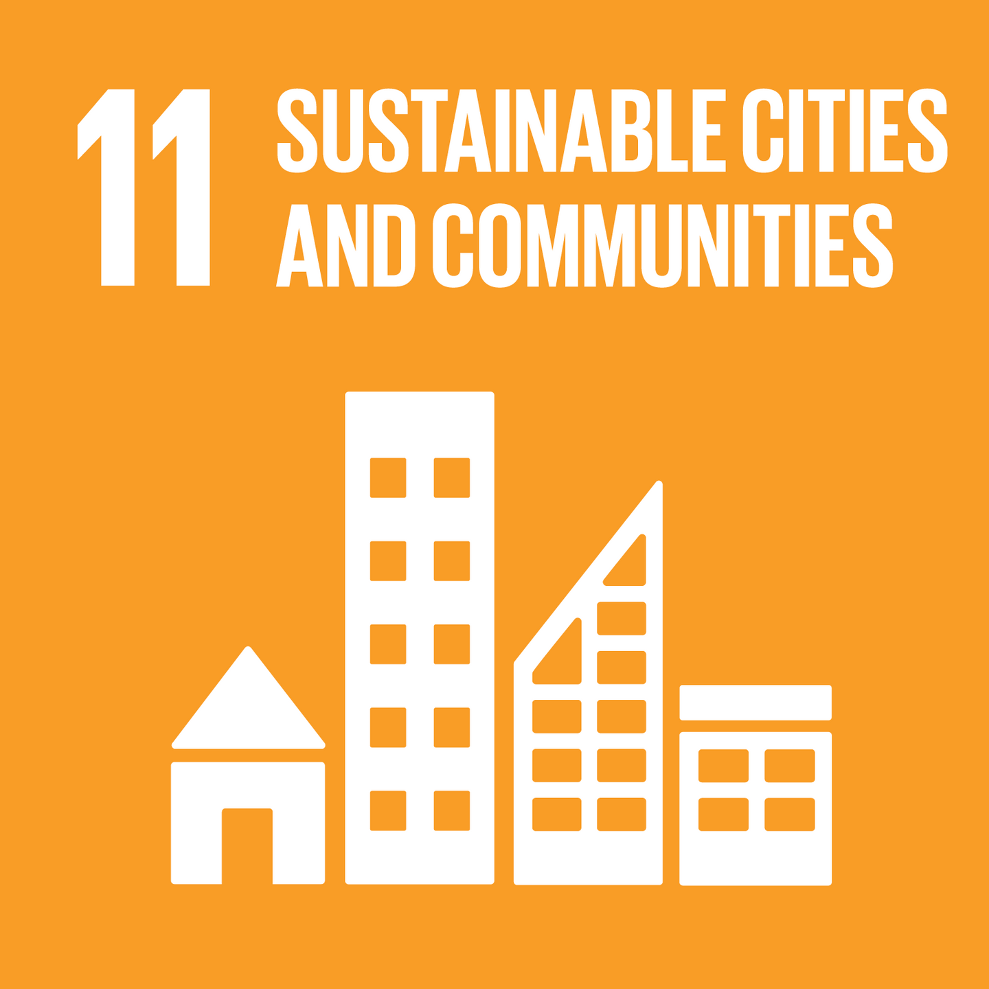 Goal 11, Sustainable Cities and Communities, of The UN's Sustainable Development Goals (SDGs)