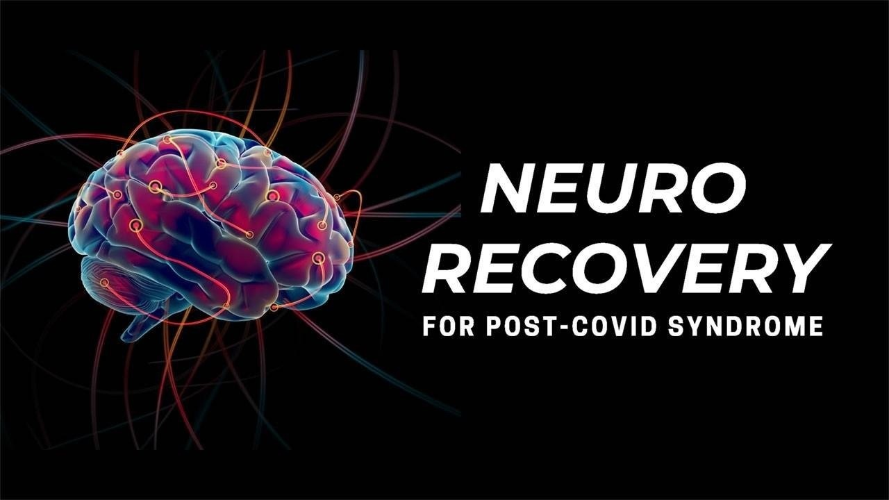 Logo for Online Seminar, Breathing Neurology and Post-Covid Recovery