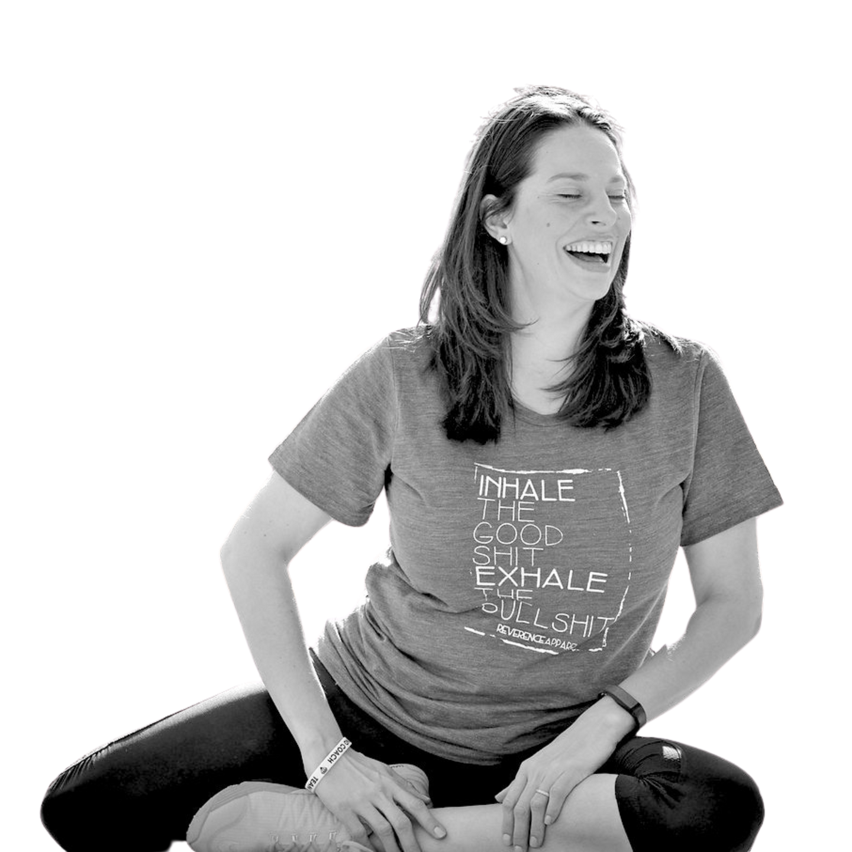 Amanda Kathryn Roman yoga pose