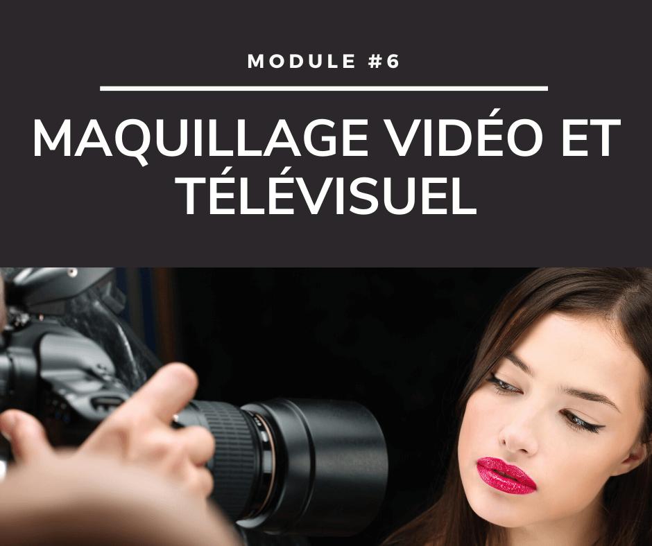 Cours de maquillage - Maquillage vidéo et télévisuel