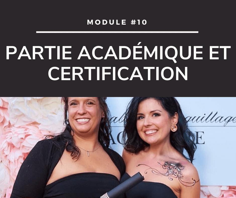 Cours de maquillage - Certification et diplôme