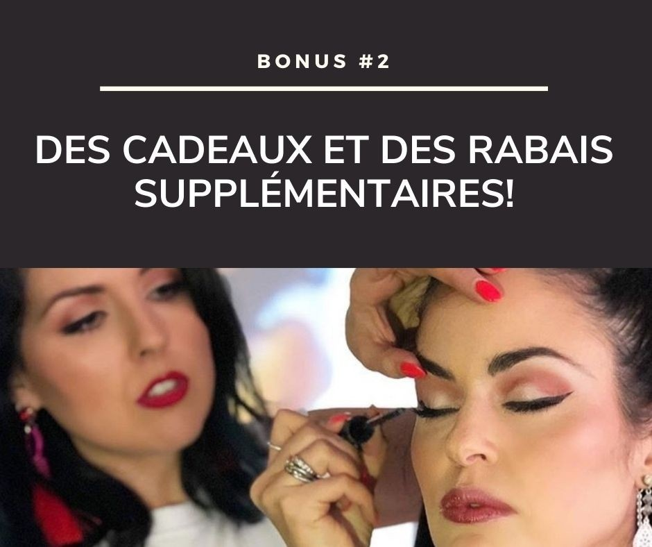Cours de maquillage - Formation continue