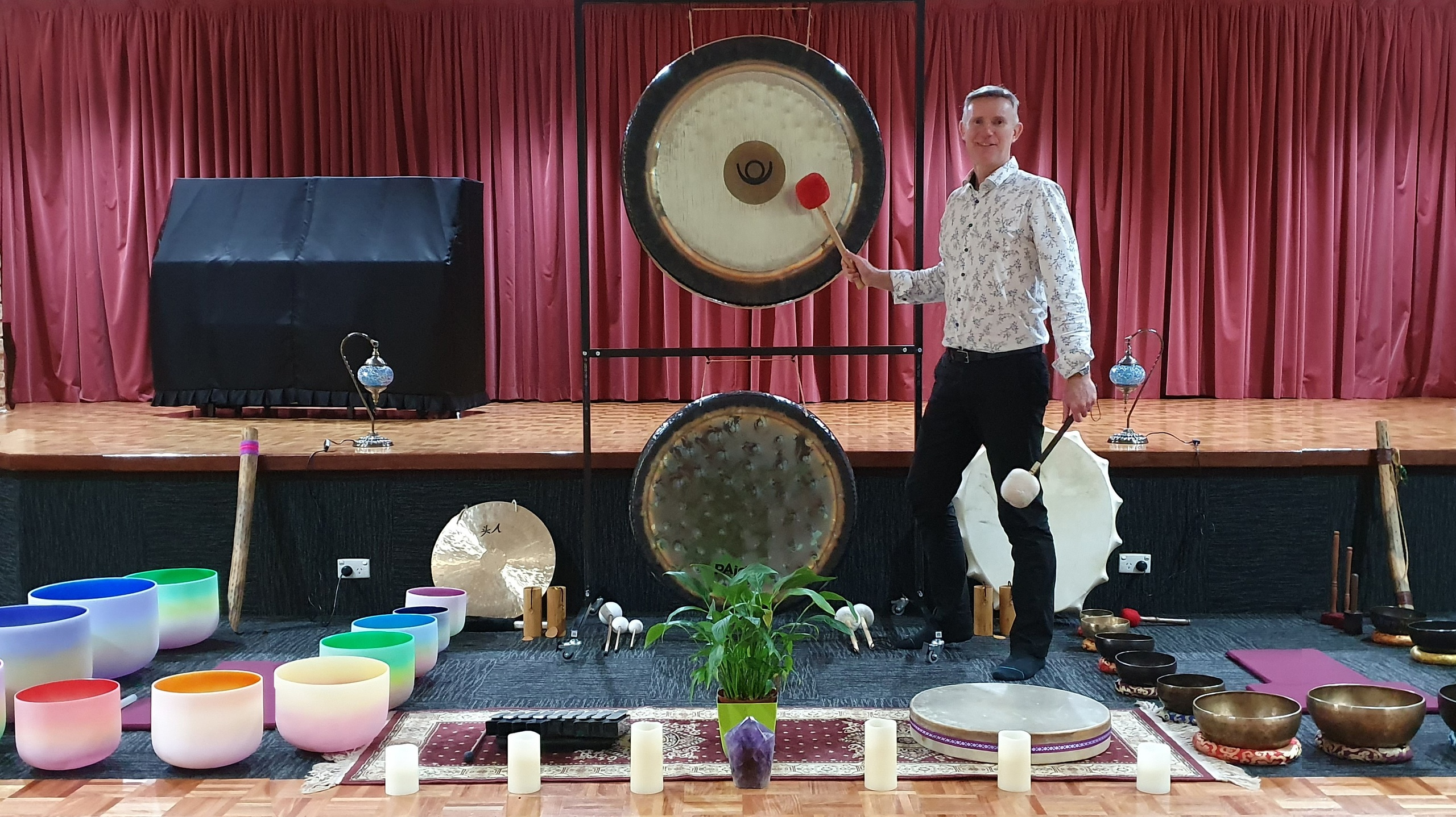 Sound Healing in Iluka, Australia