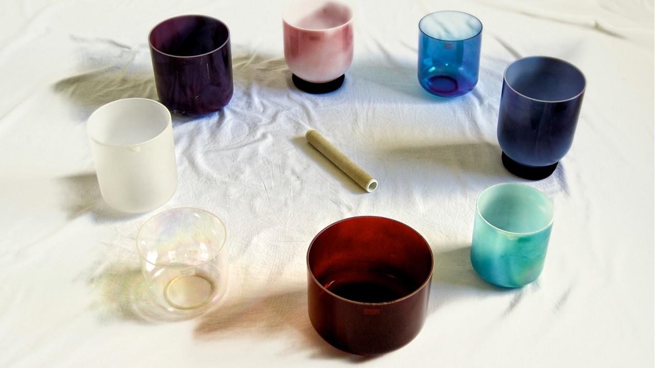 Sound Healing Academy Workshop - Crystal Singing Bowls