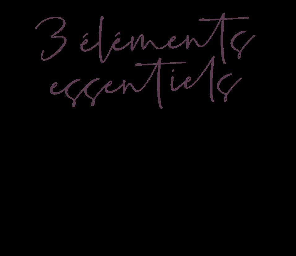3 éléments essentiels QU'IL TE FAUT POUR MAXIMISER TA CROISSANCE