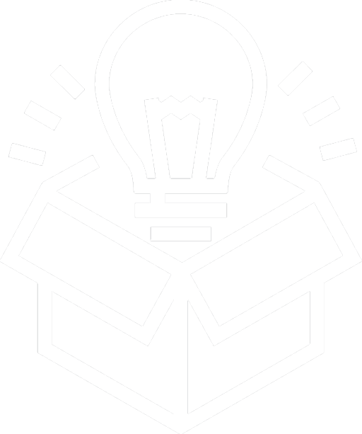 White LaunchPAD Approach Icon