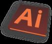 Adobe illustrator Orange Icon