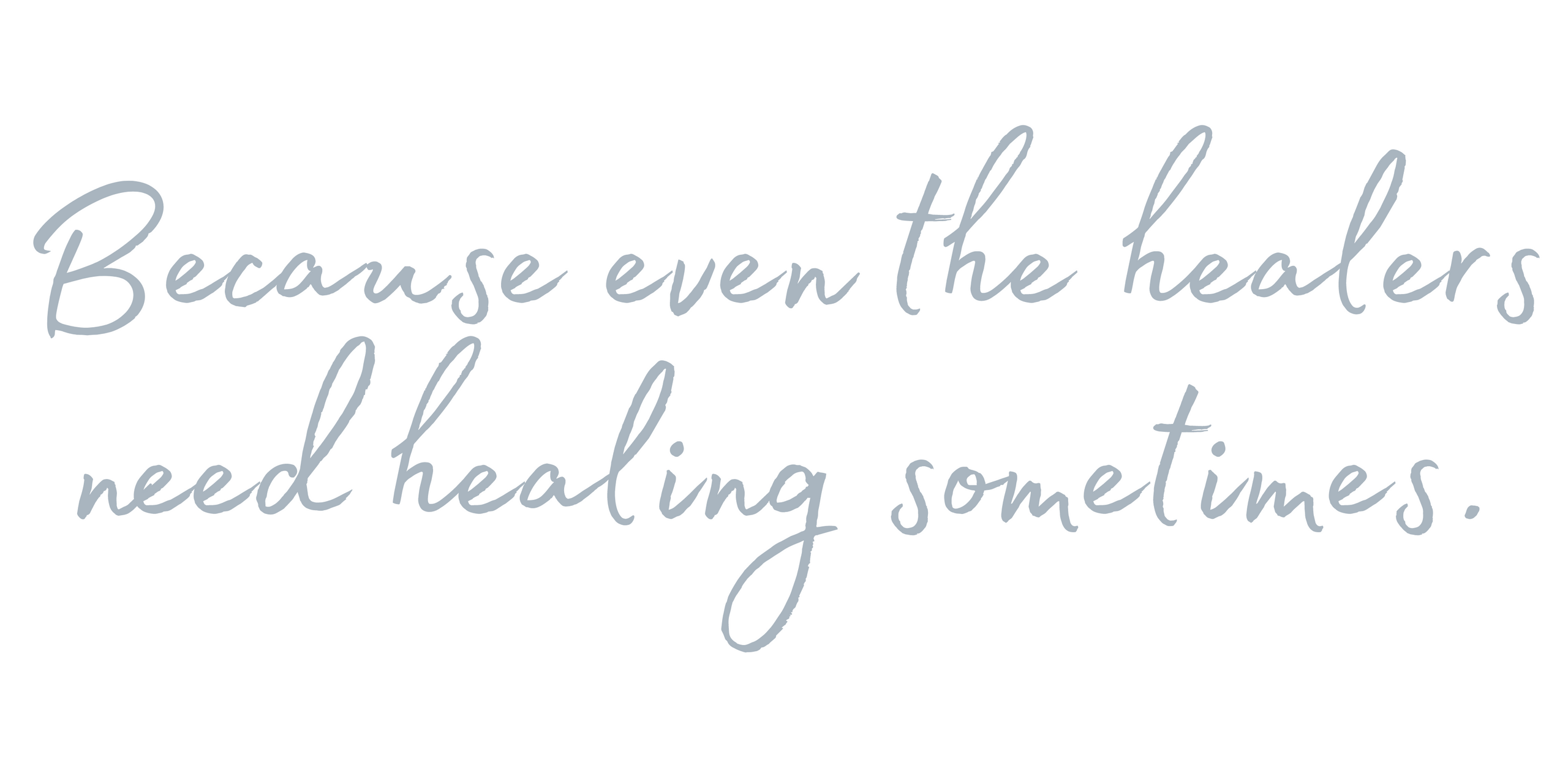 healing the healers by Dr Emily Amos