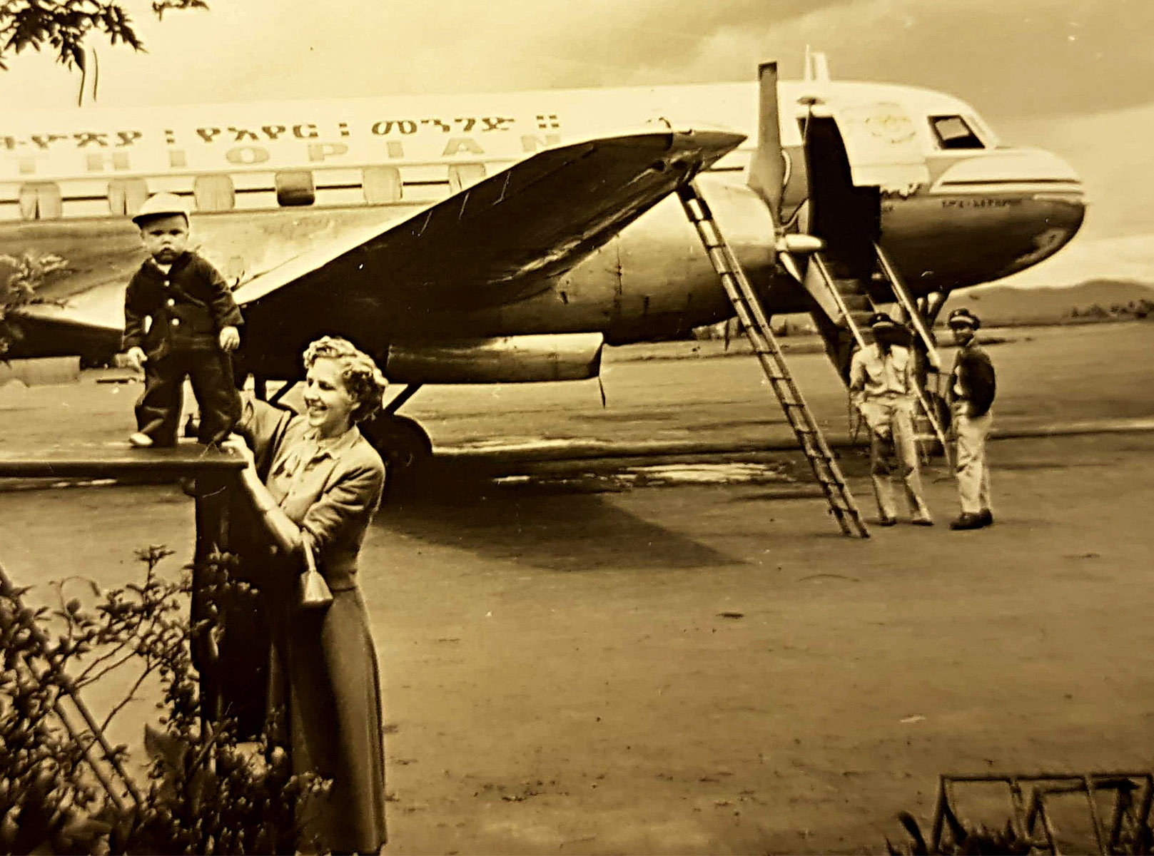 10 months old, with my mother, on my 50 day adveture around East Africa.
