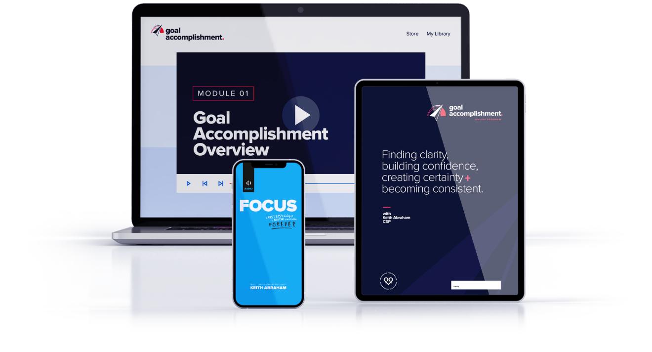 Goal Accomplishment Program inclusions