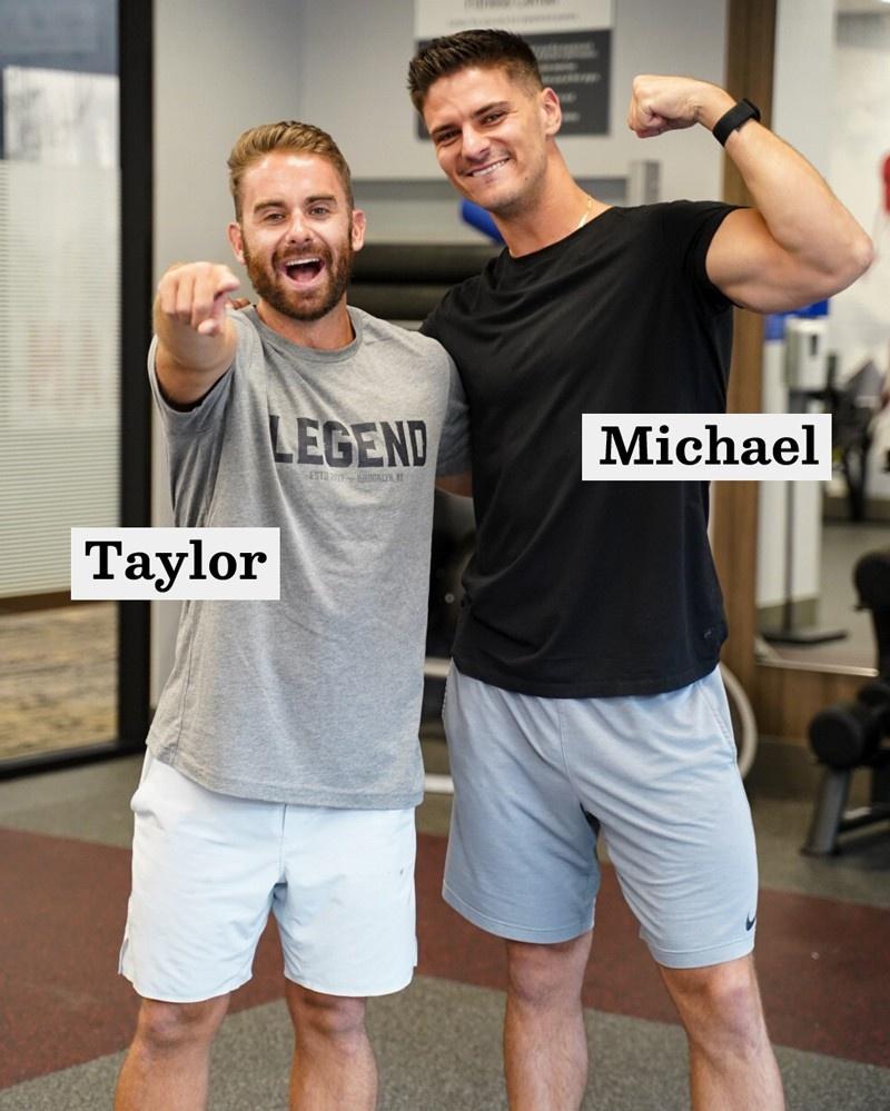 Taylor Sleaford and Michael Zigurski