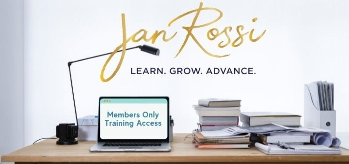 Login for Jan Rossi Marketing Course