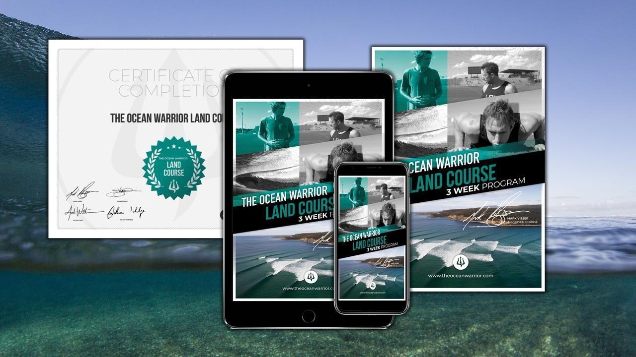 The Ocean Warrior Land Course