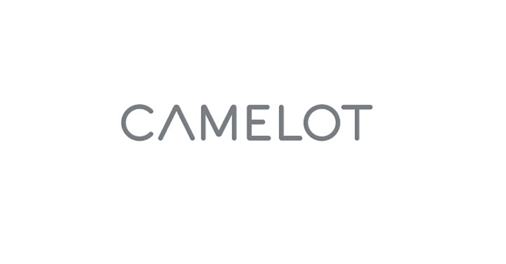 Camelot Group logo in grey links to Camelot Group Website
