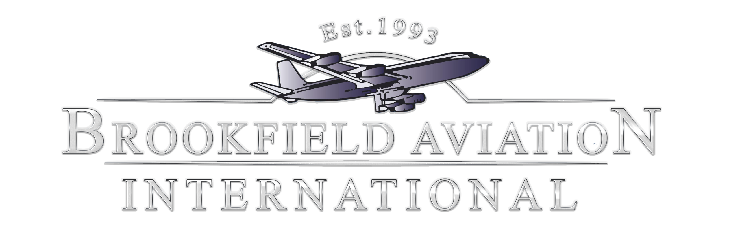 Brookfield Aviation logo when clicked takes you to Brookfield Aviation Website