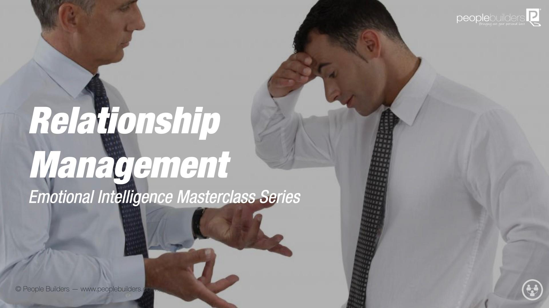 2 men in business suit arguing with each other because they lack relationship management.