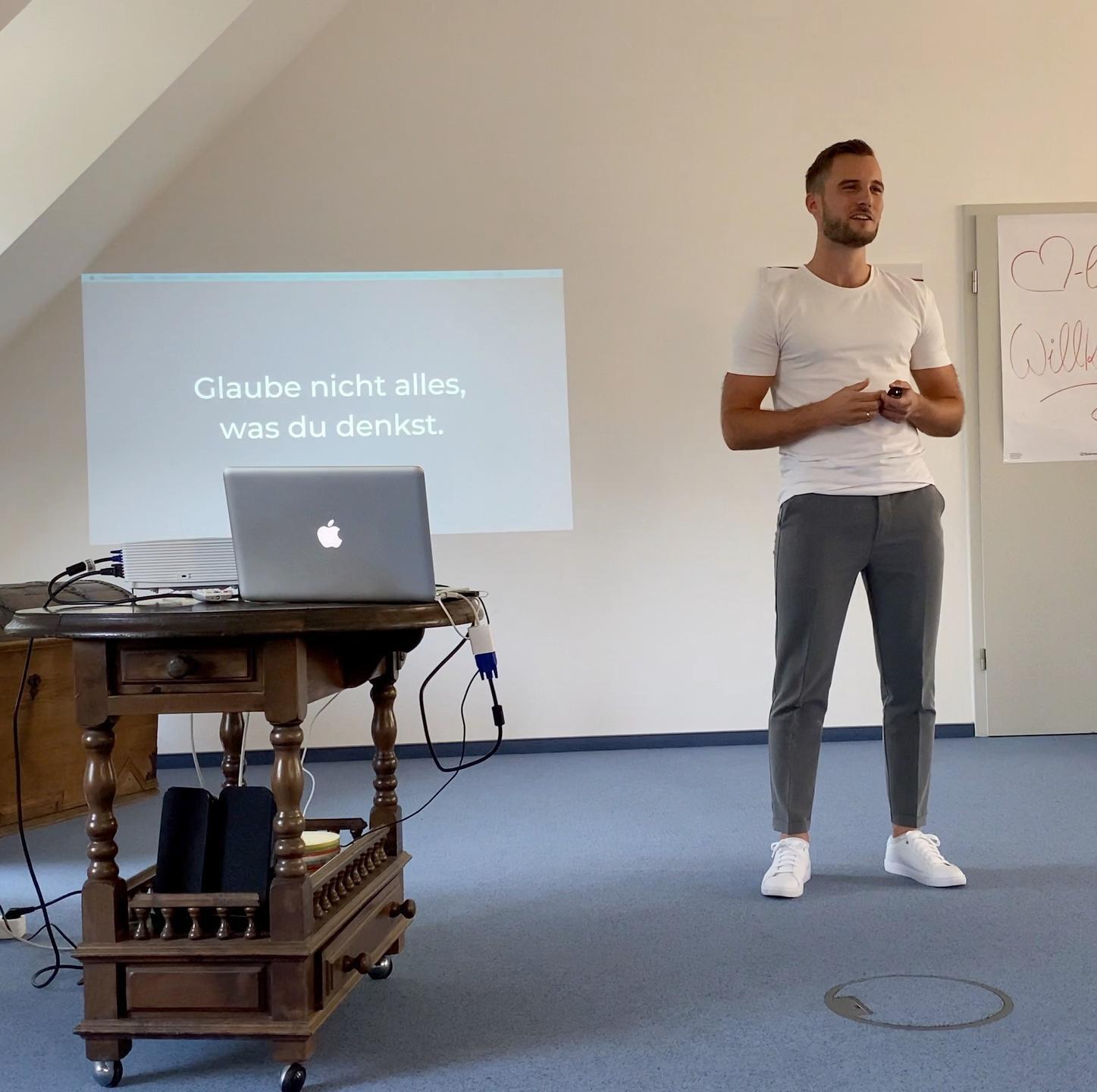 Julius Duchscherer als Coach & Speaker