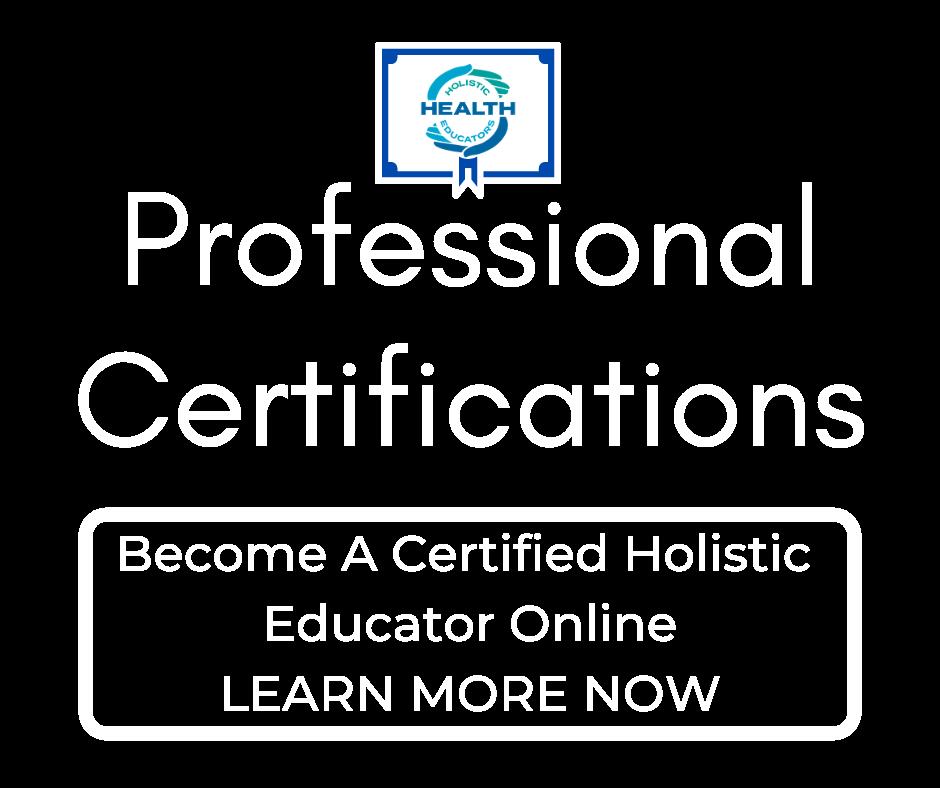 holistic certification, holistic health, health certification, online certification