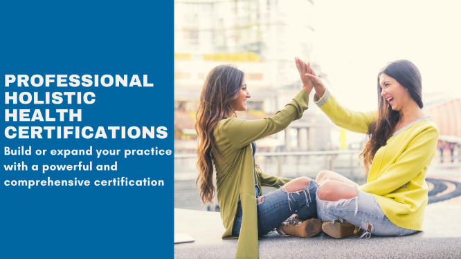 health certifications, holistic, professional certifications