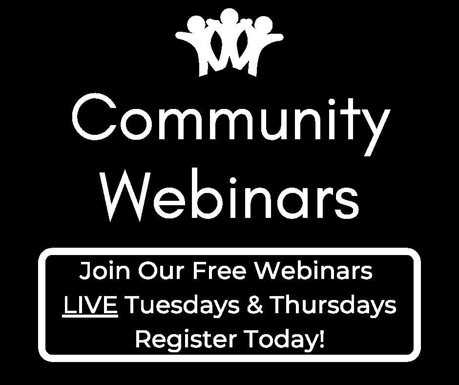 free webinar, community health, free presentation, holistic webinar, holistic health