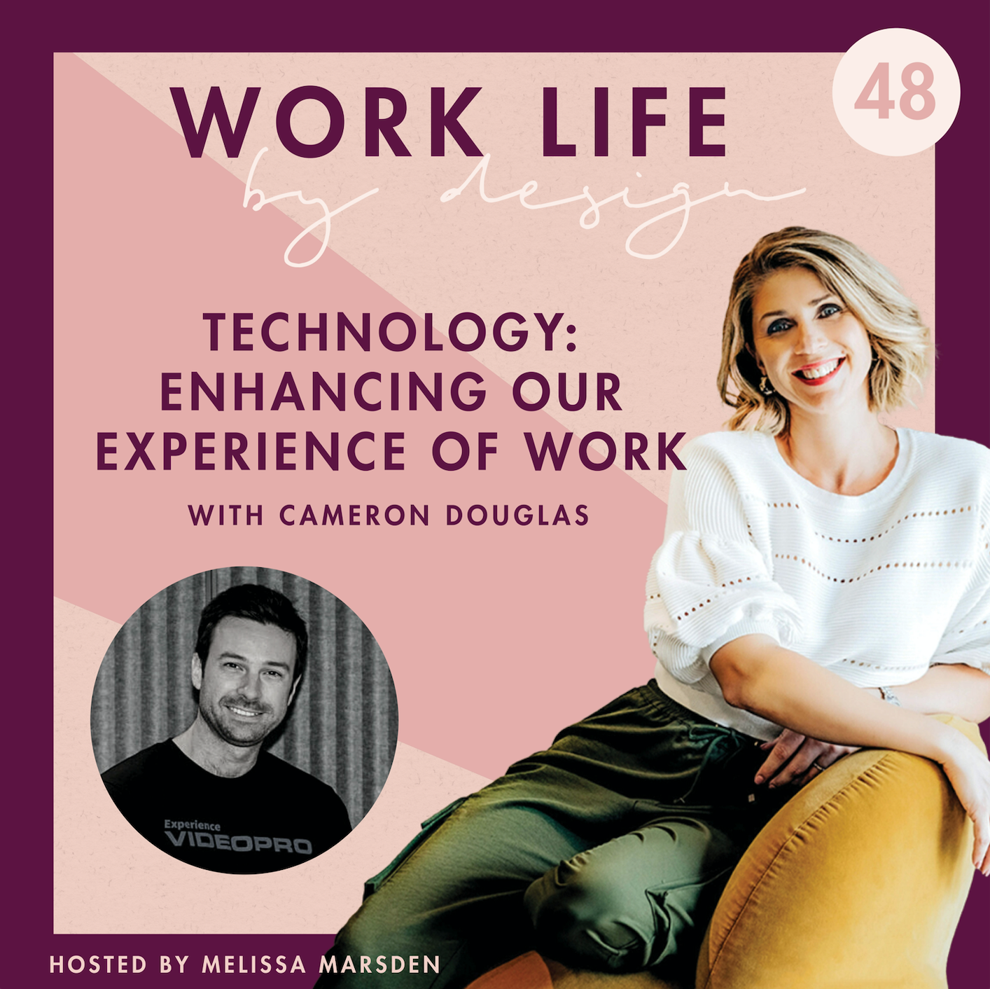 Are we just creating Digital Silo's?   Melissa Marsden Worklife By Design Podcast