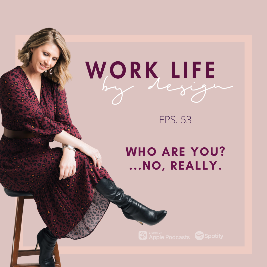 Who Are You? ... No, Really   Melissa Marsden Work Life By Design Podcast