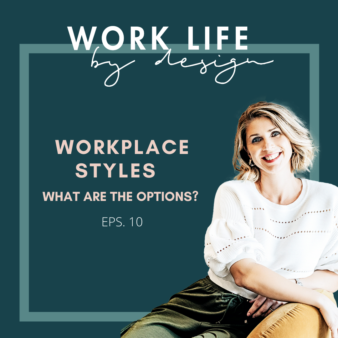 Workplace Styles | What are the options? Work life by design with Melissa Marsden
