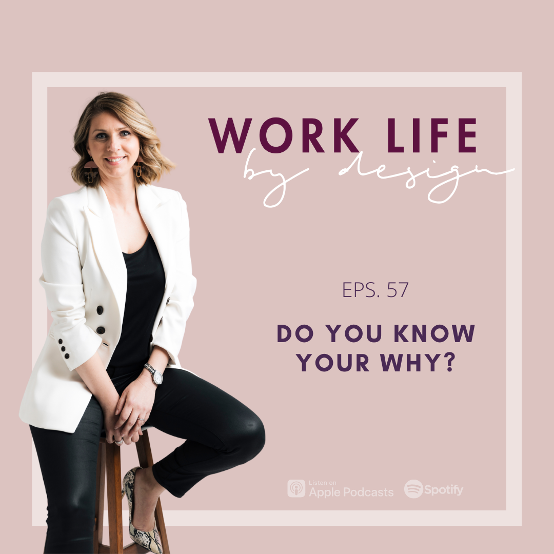 Do You Know Your Why?   Melissa Marsden Work Life By Design Podcast
