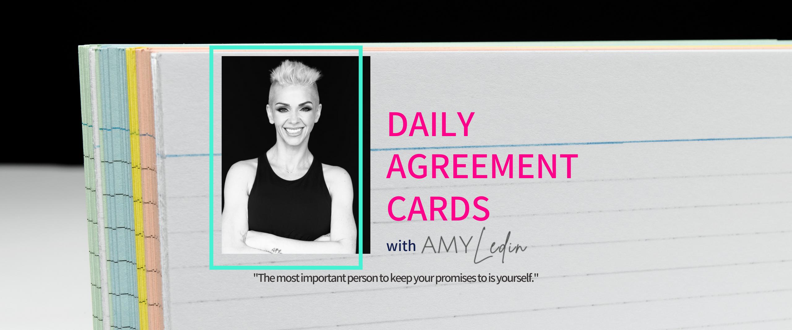 Daily Agreement Cards with Amy Ledin
