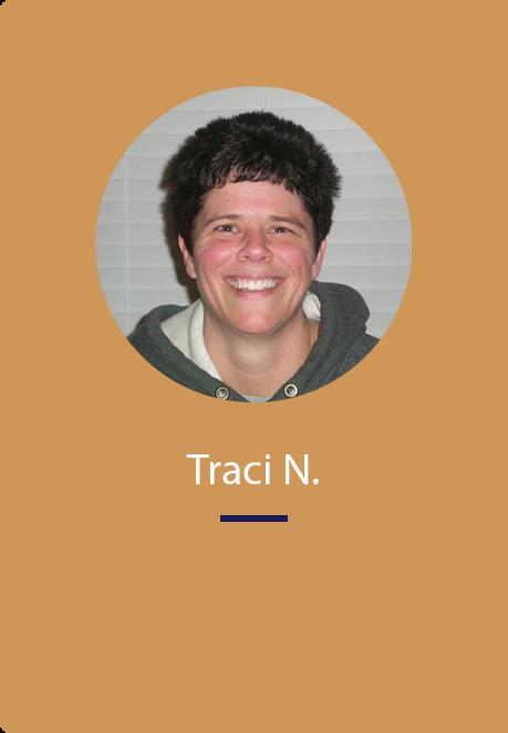 Traci's testimony