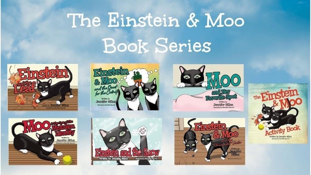 Einstein and Moo Children's Book Series