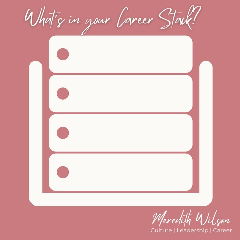What's in your Career Stack? Pink