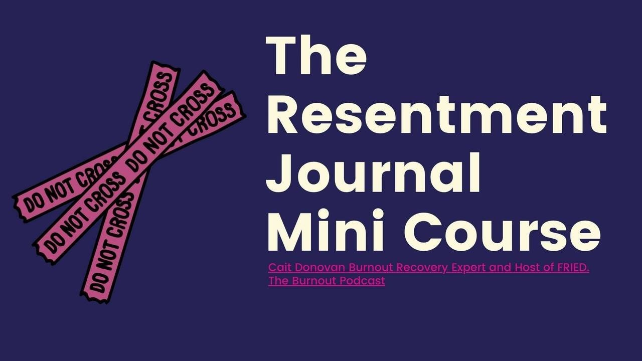 The Resentment Journal Includes
