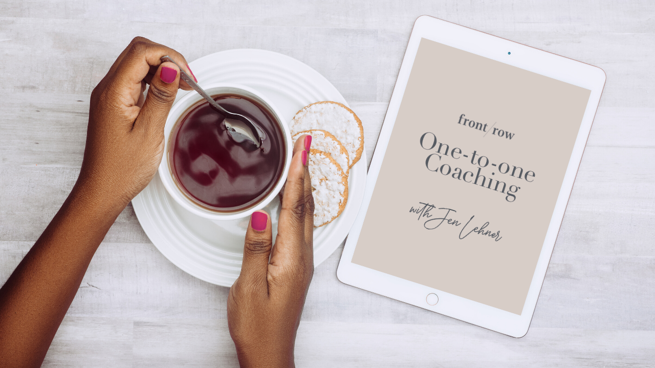 One-to-one Coaching with Jen