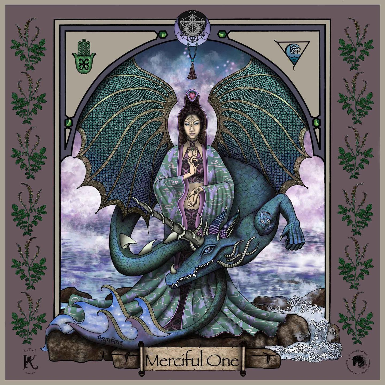 The Merciful One Warrioress Artwork