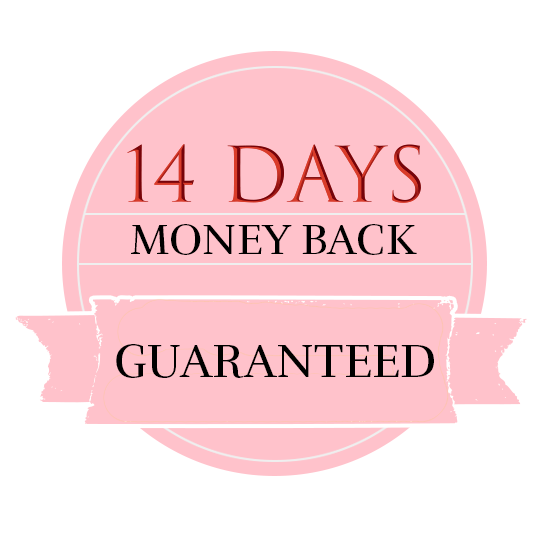 14 days money back guaranteed