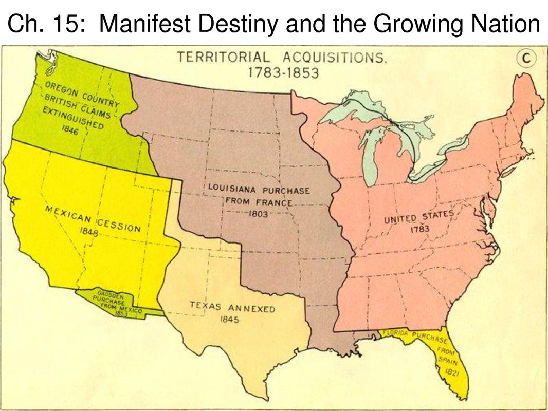 Manifest Destiny and Westward Expansion