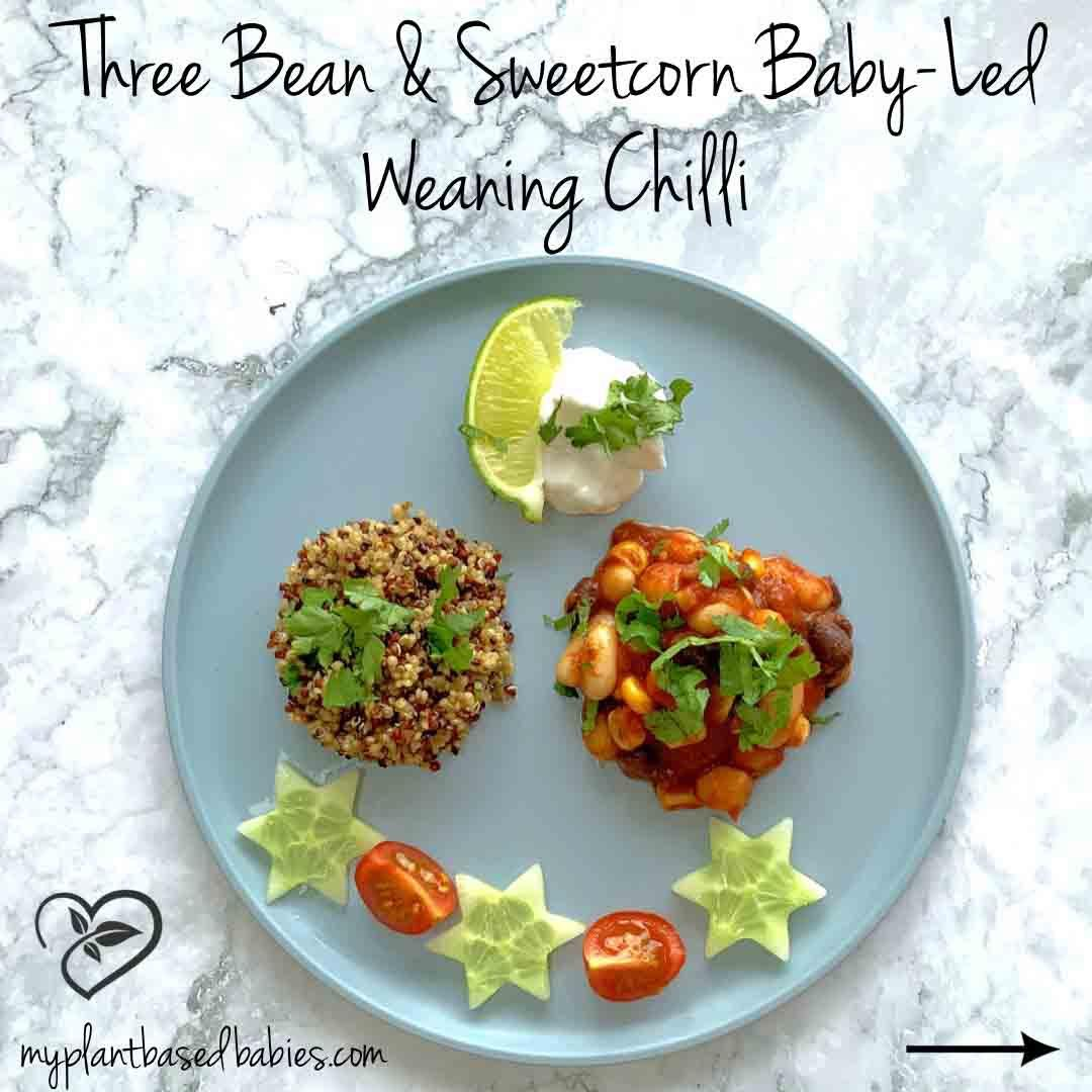 Plant-Based Chilli and Quinoa for Weaning Babies