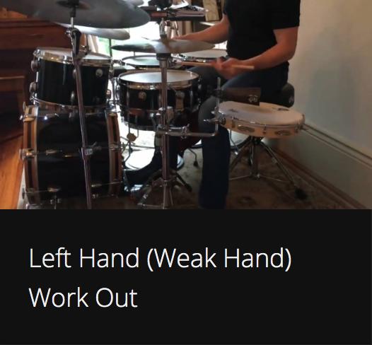 Left Hand (Weak Hand) Work Out