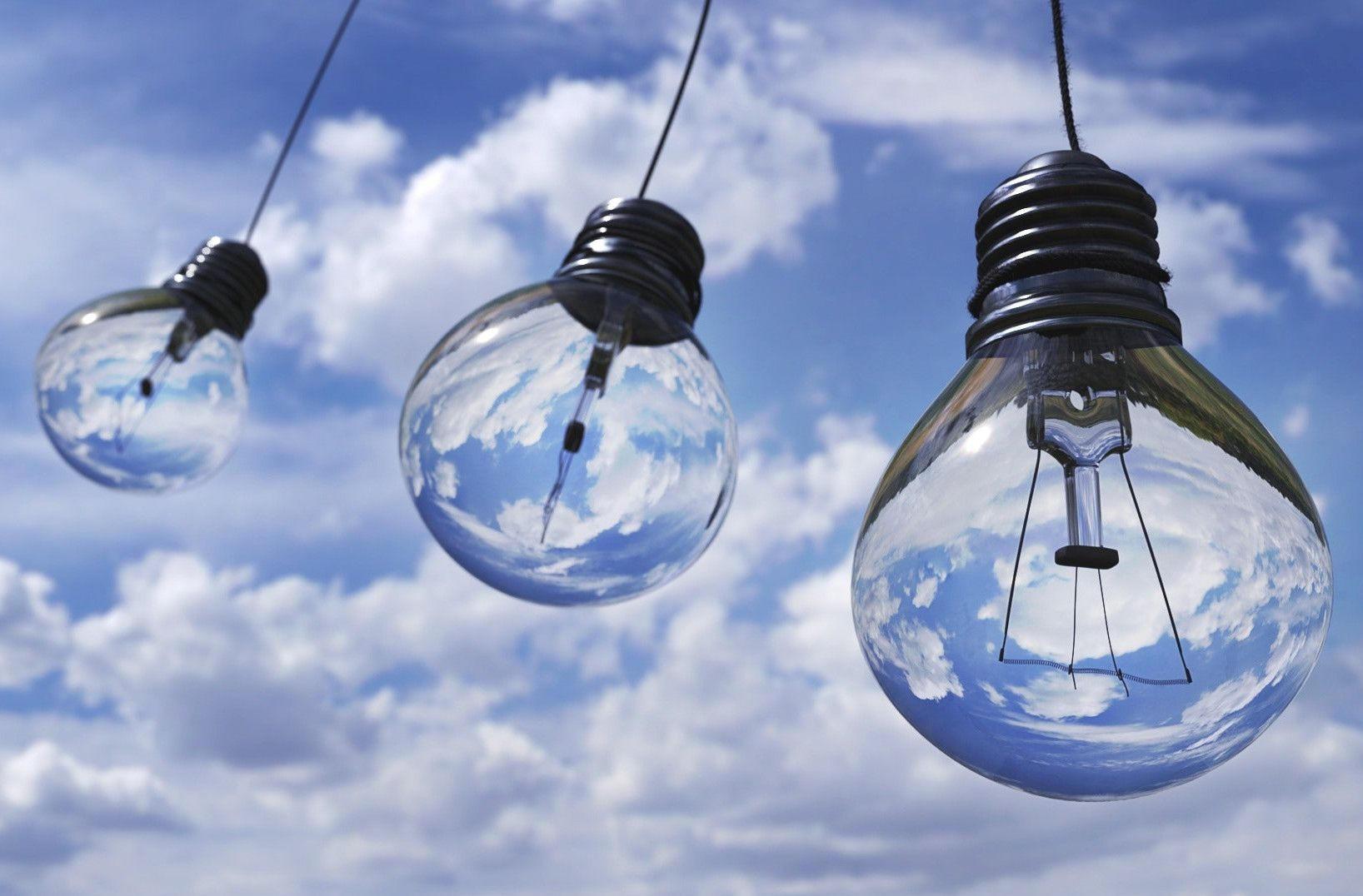 Light bulbs of clarity