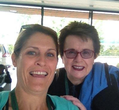 IMAGE OF BILLY JEAN KING TENNIS FITNESS