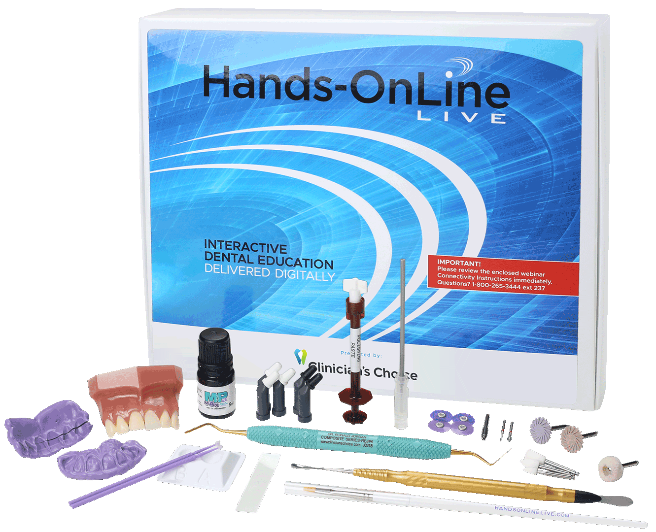 Poloshing and Finishing Hands-On Technique Kit included in tuition